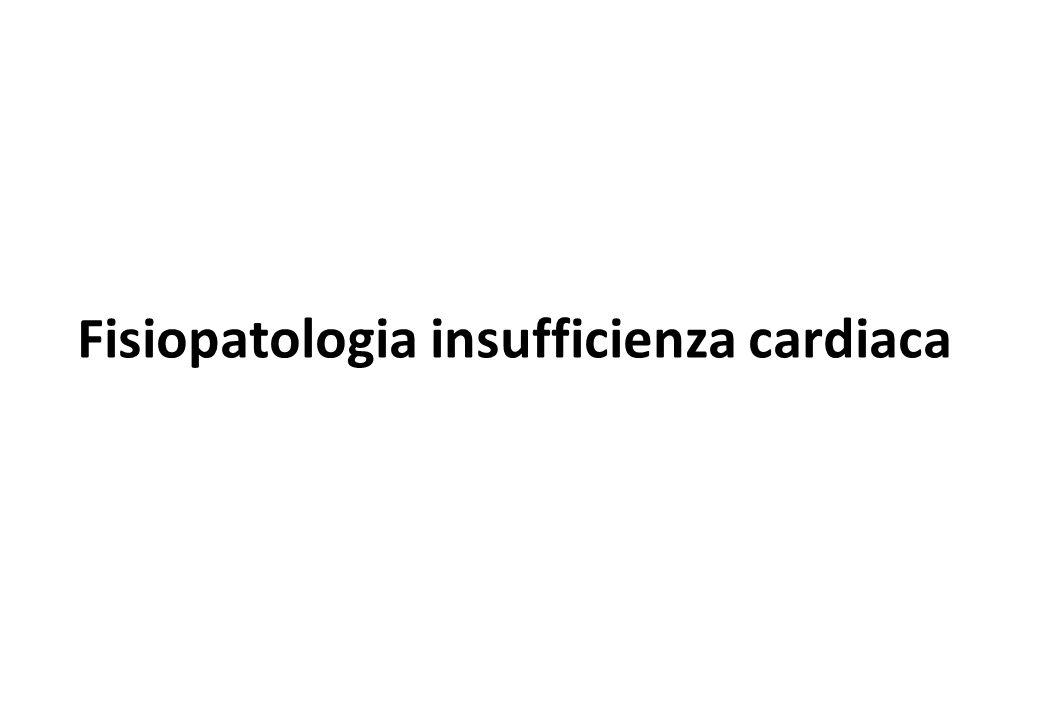 Fisiopatologia insufficienza cardiaca