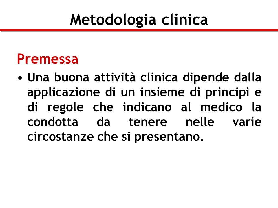 Metodologia clinica Premessa