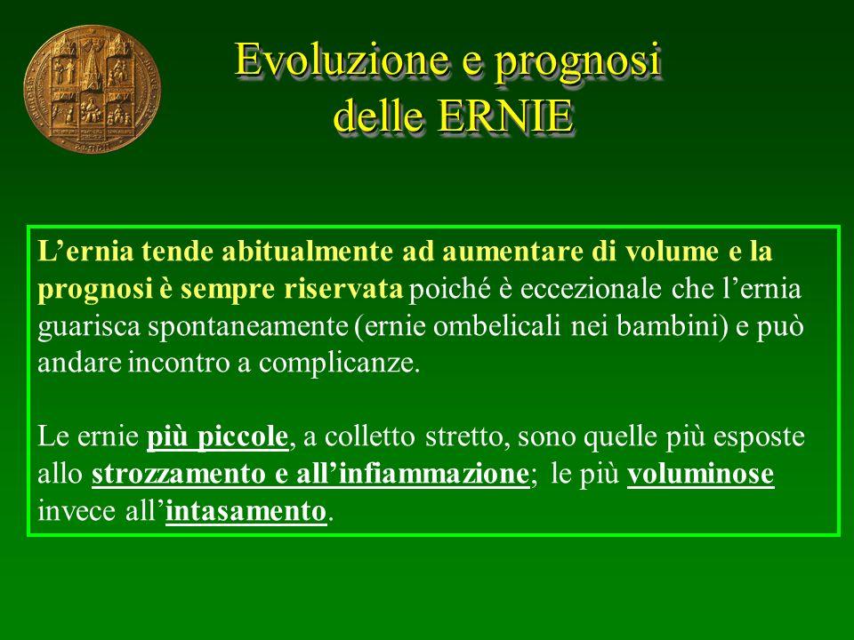 Evoluzione e prognosi delle ERNIE