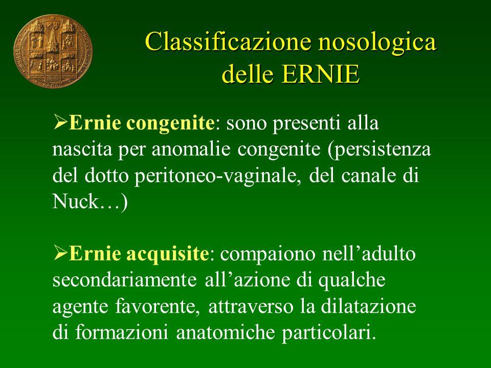 Classificazione nosologica delle ERNIE