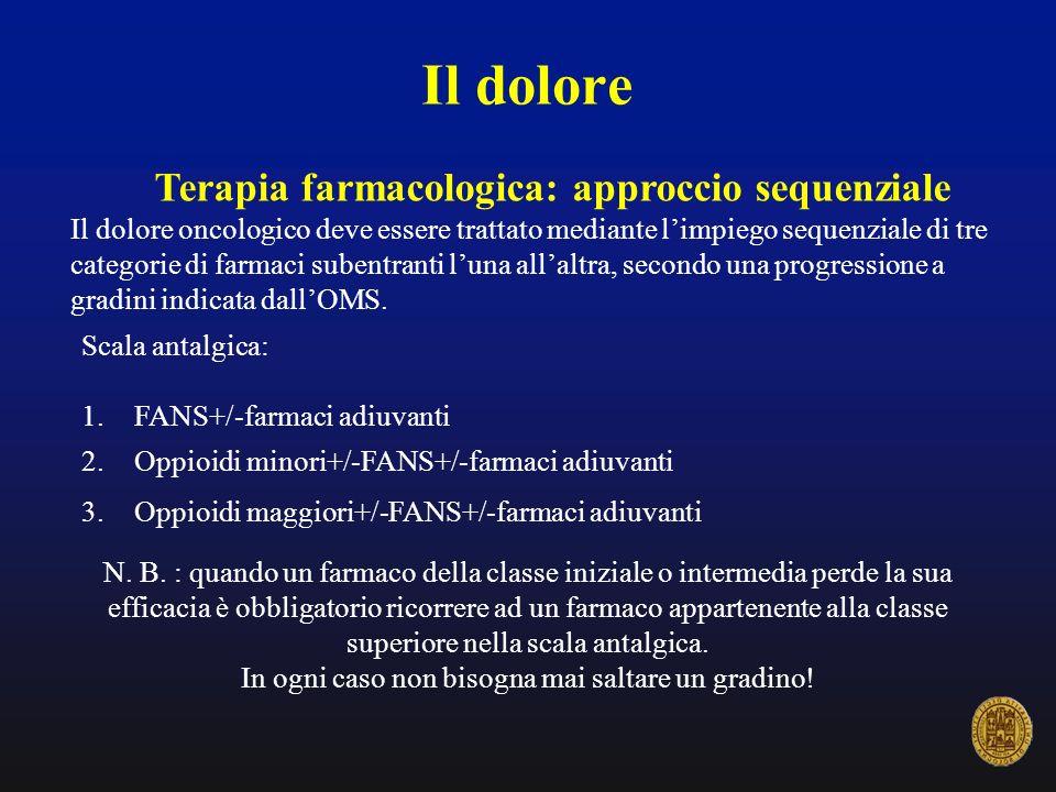 Terapia farmacologica: approccio sequenziale