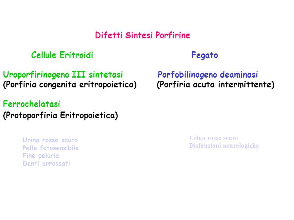 Difetti Sintesi Porfirine