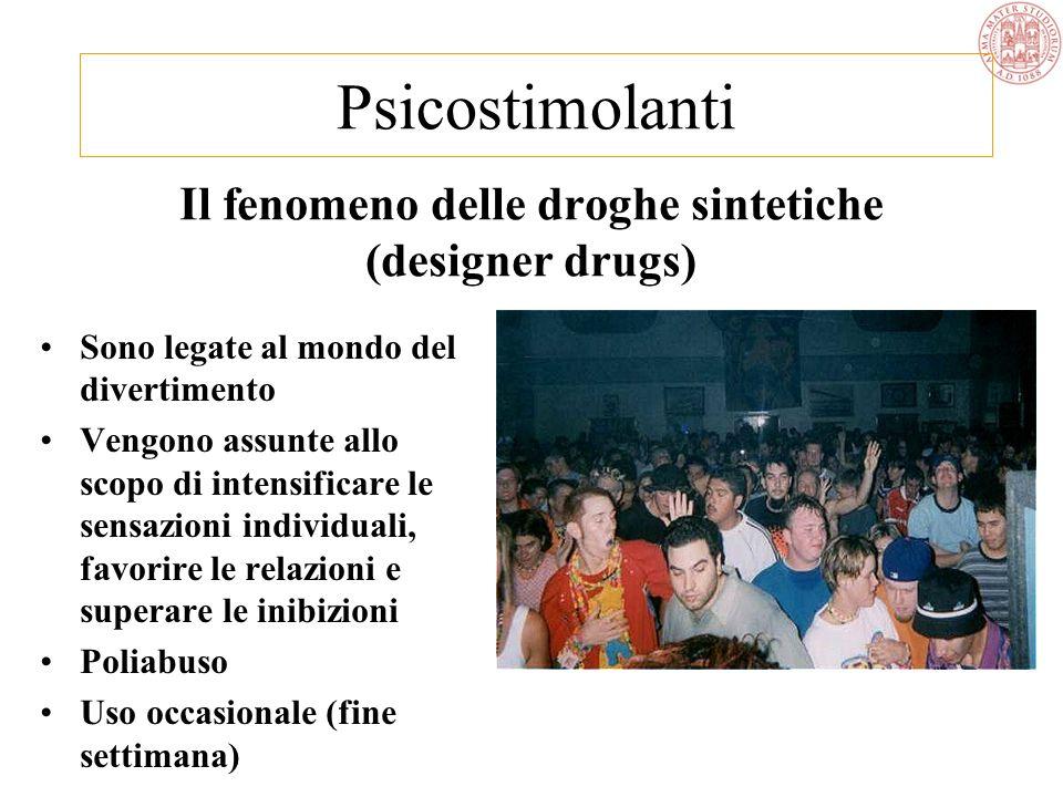 Il fenomeno delle droghe sintetiche (designer drugs)