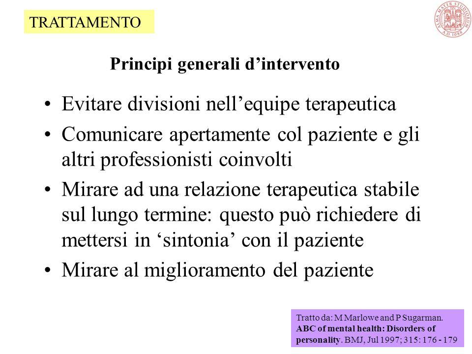 Principi generali d'intervento
