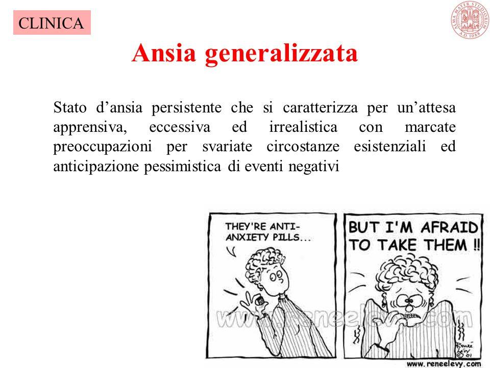 Ansia generalizzata CLINICA