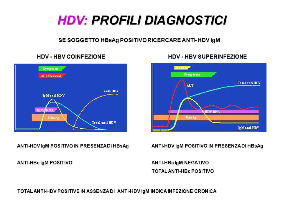 HDV: PROFILI DIAGNOSTICI