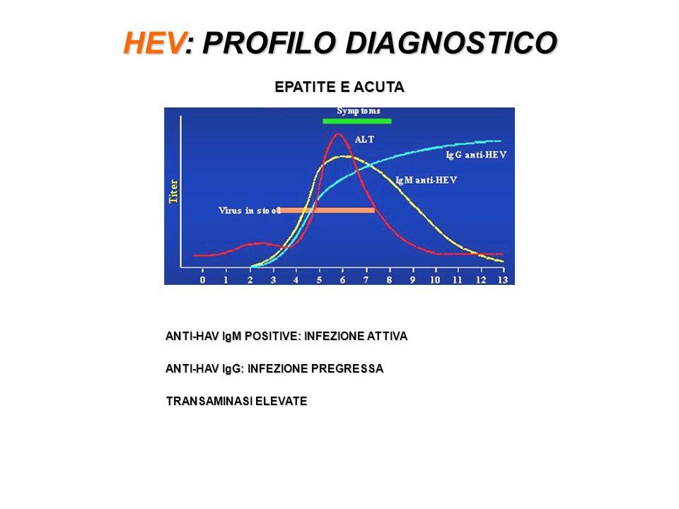 HEV: PROFILO DIAGNOSTICO