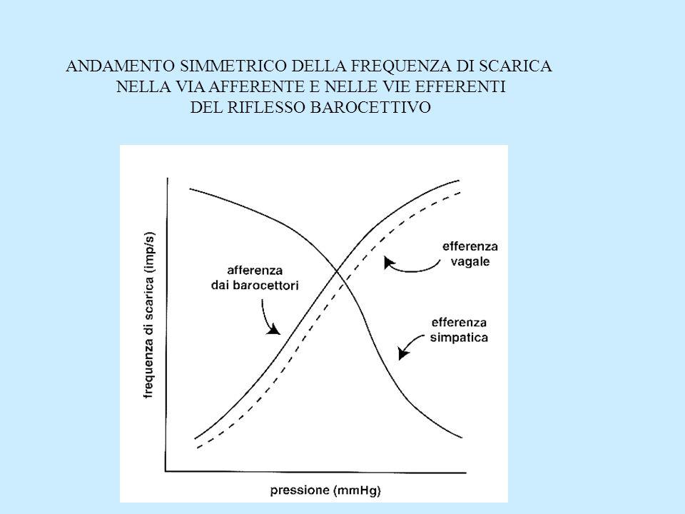 ANDAMENTO SIMMETRICO DELLA FREQUENZA DI SCARICA