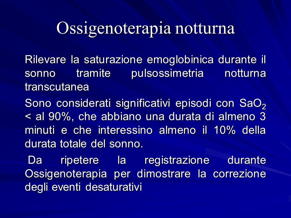 Ossigenoterapia notturna