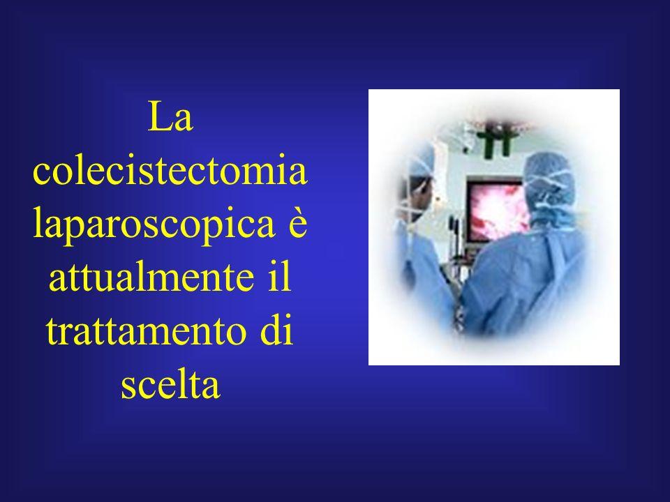 La colecistectomia laparoscopica è