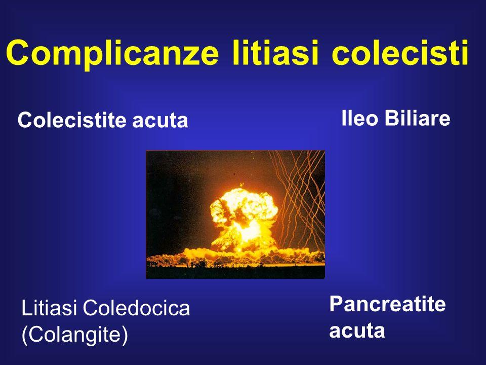 Complicanze litiasi colecisti