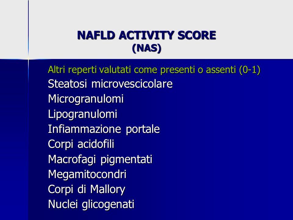 NAFLD ACTIVITY SCORE (NAS)