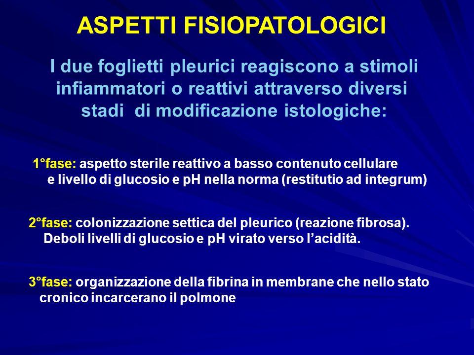 ASPETTI FISIOPATOLOGICI