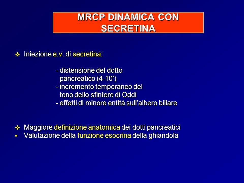 MRCP DINAMICA CON SECRETINA
