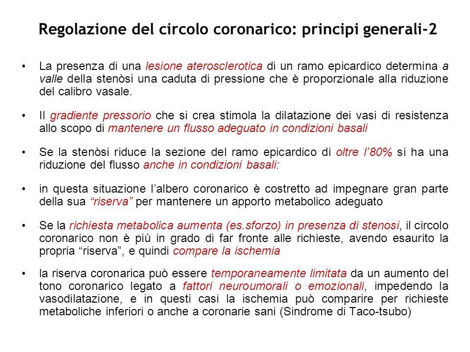Regolazione del circolo coronarico: principi generali-2