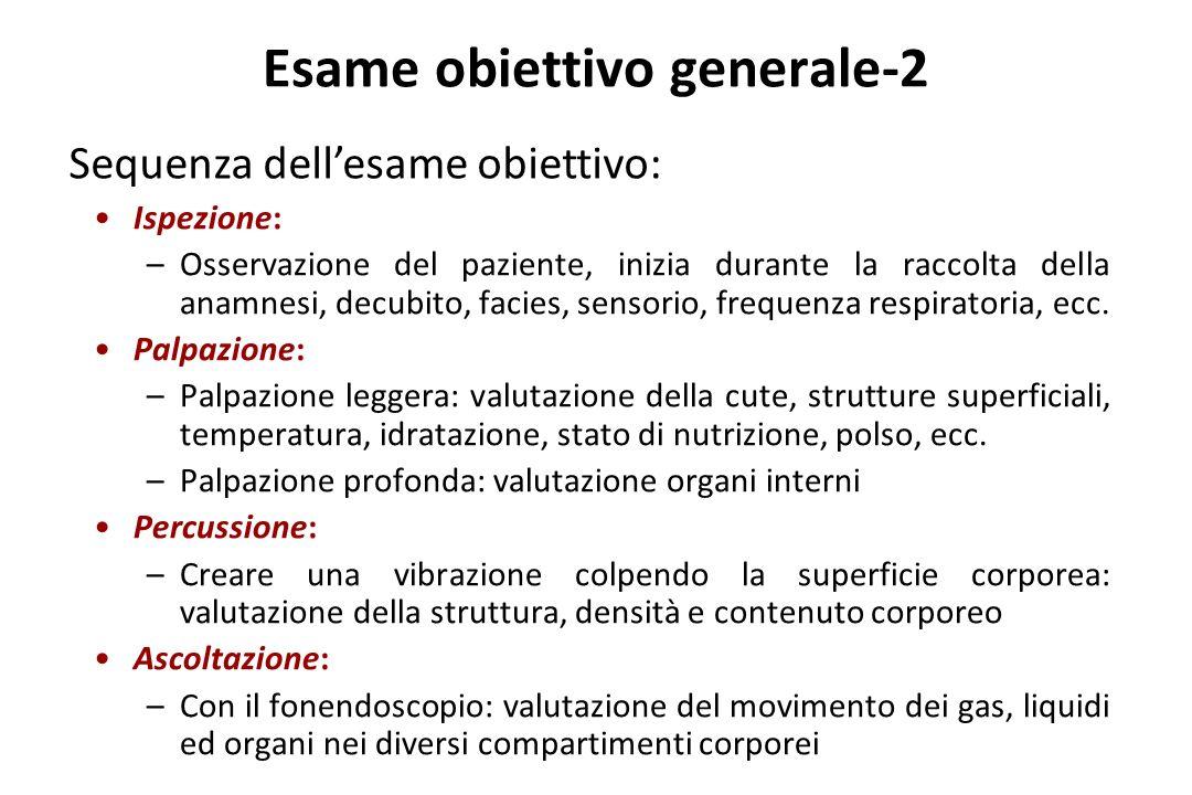 Esame obiettivo generale-2