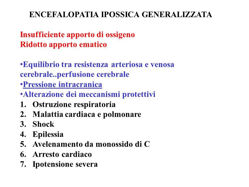 ENCEFALOPATIA IPOSSICA GENERALIZZATA