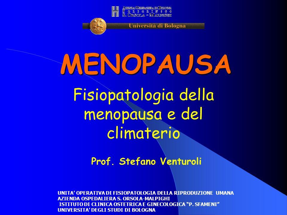 Fisiopatologia della menopausa e del climaterio
