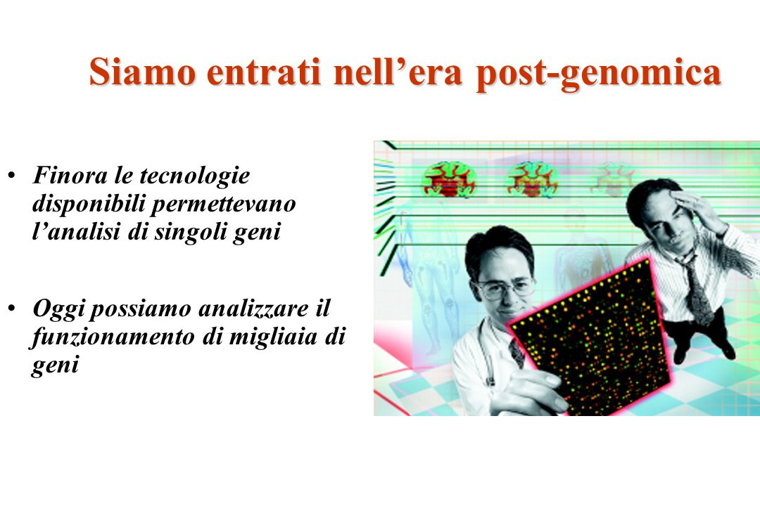Siamo entrati nell'era post-genomica