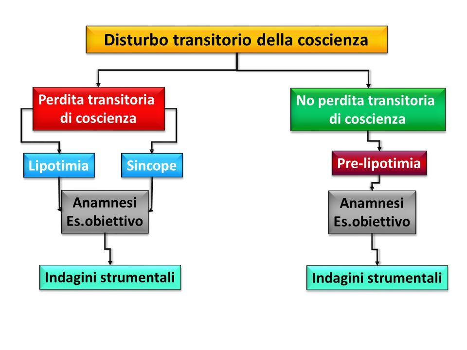 Disturbo transitorio della coscienza No perdita transitoria
