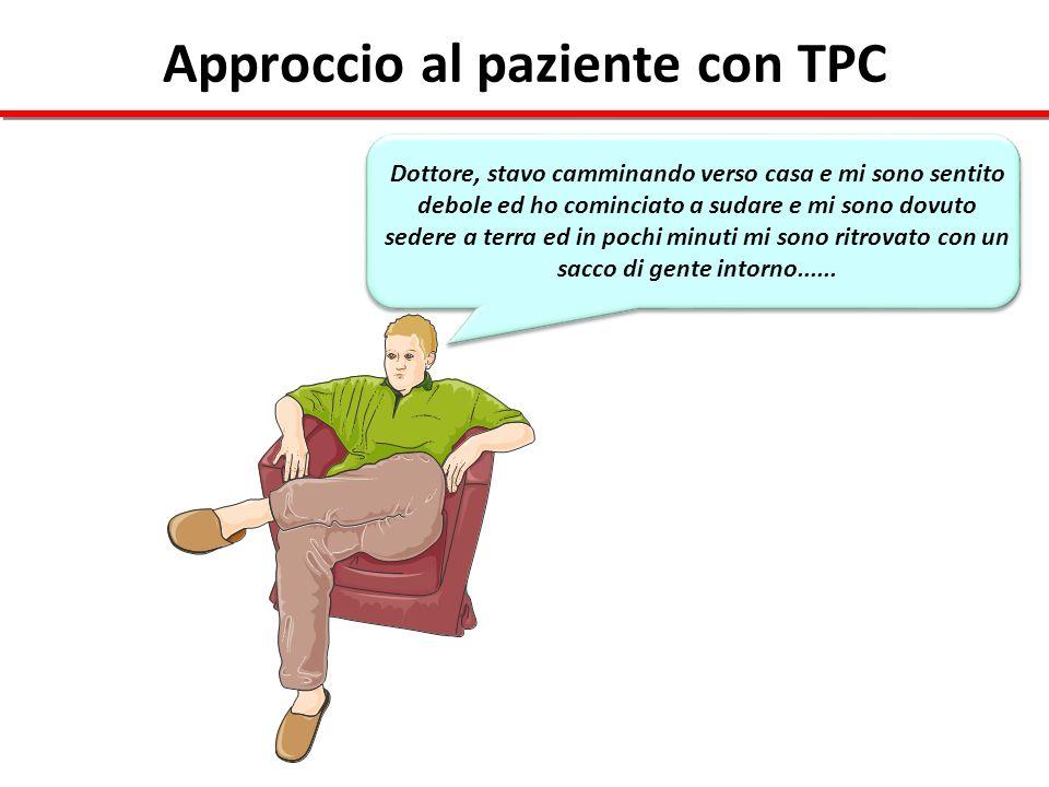 Approccio al paziente con TPC