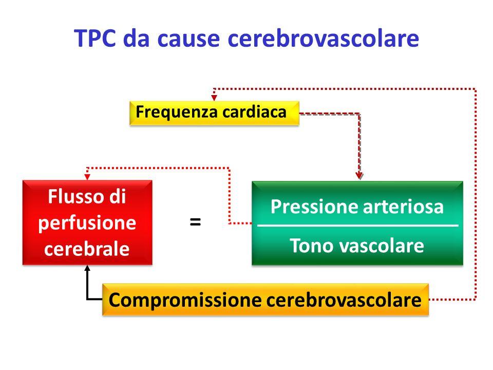 TPC da cause cerebrovascolare
