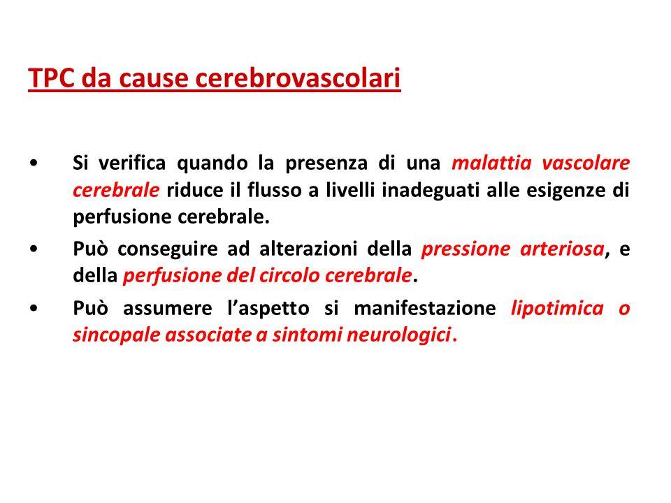 TPC da cause cerebrovascolari