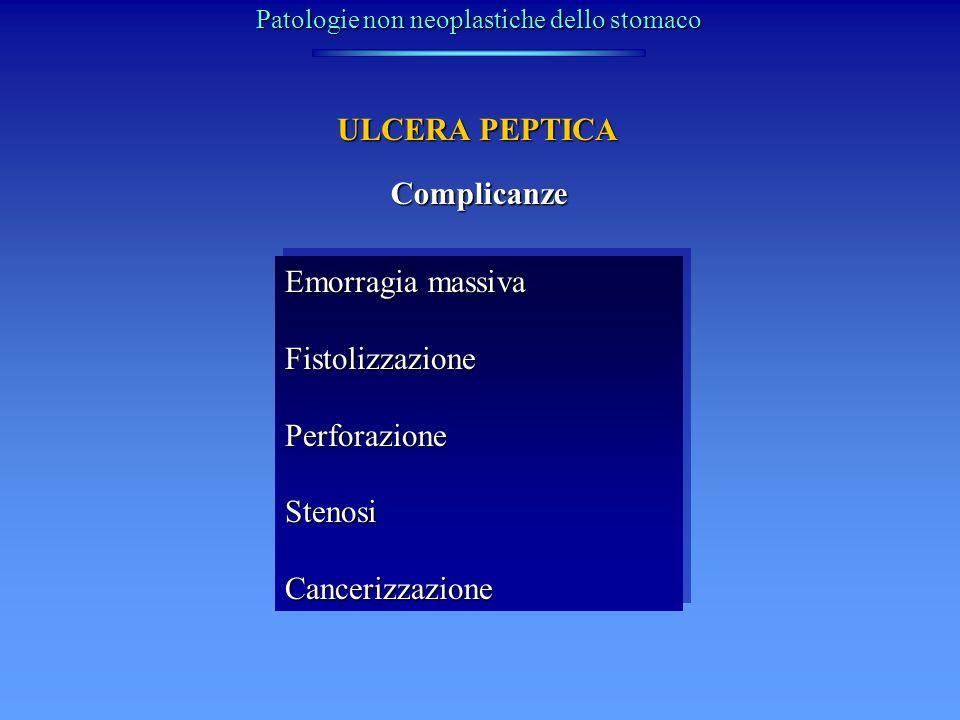 Patologie non neoplastiche dello stomaco