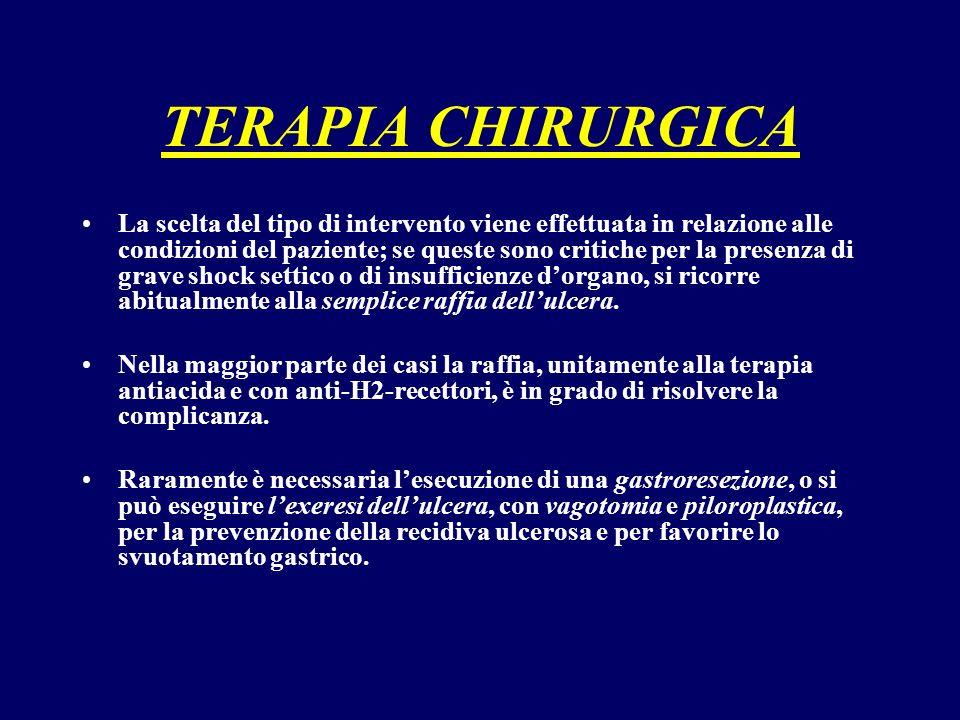 TERAPIA CHIRURGICA