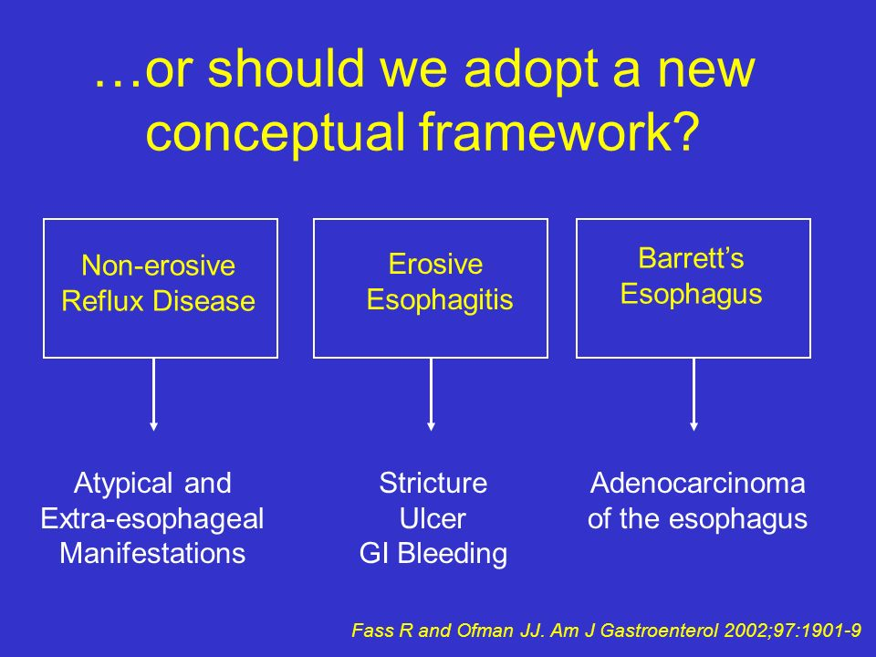 …or should we adopt a new conceptual framework