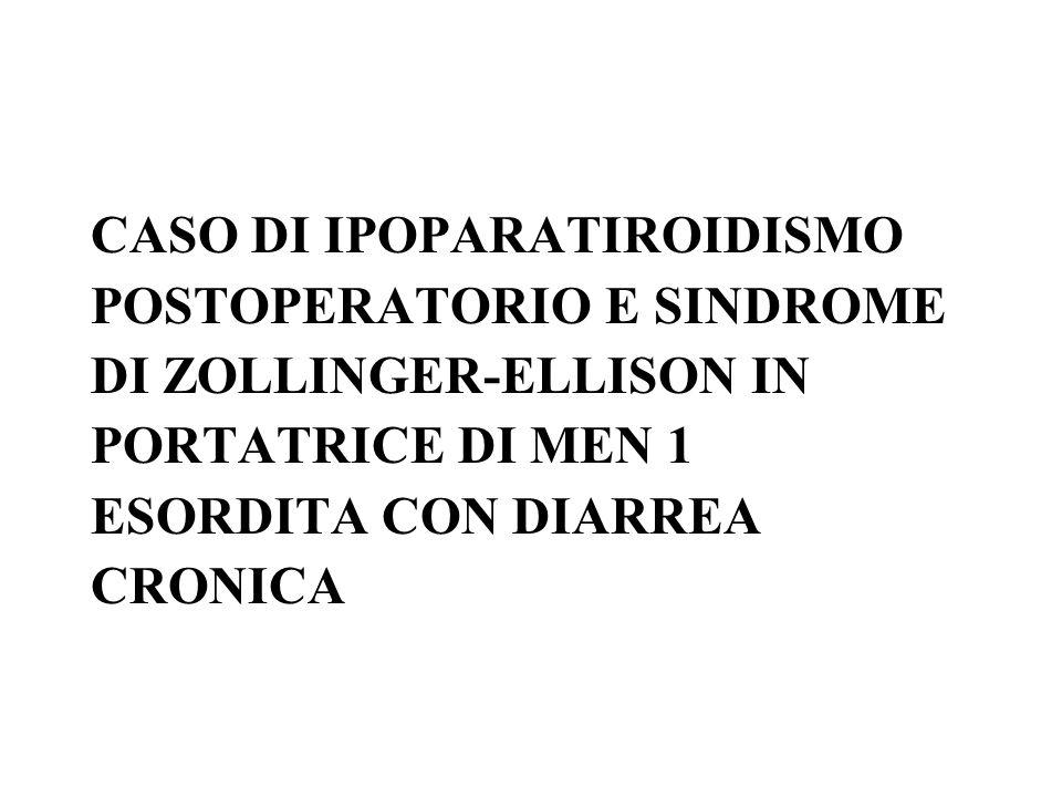 CASO DI IPOPARATIROIDISMO