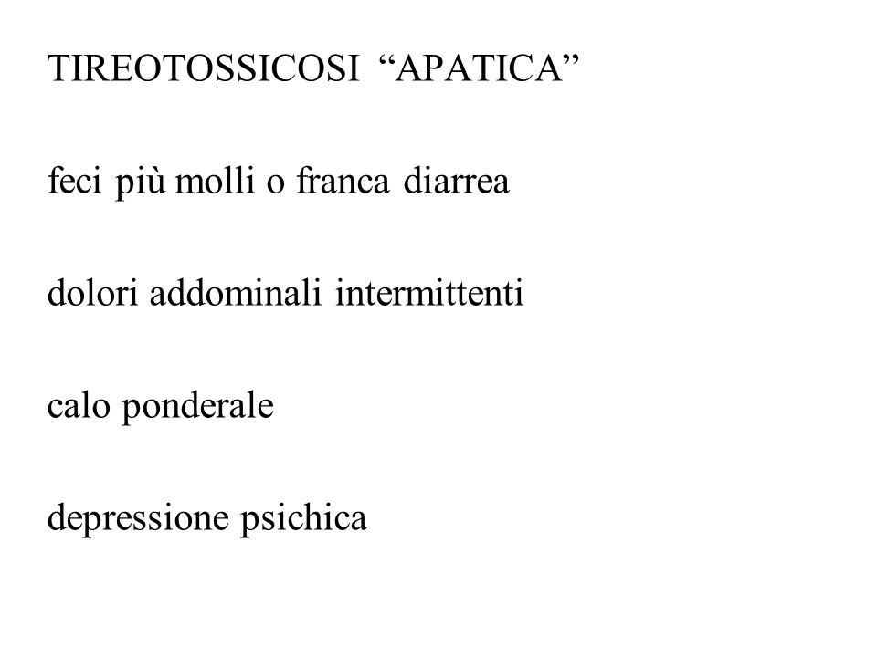 TIREOTOSSICOSI APATICA