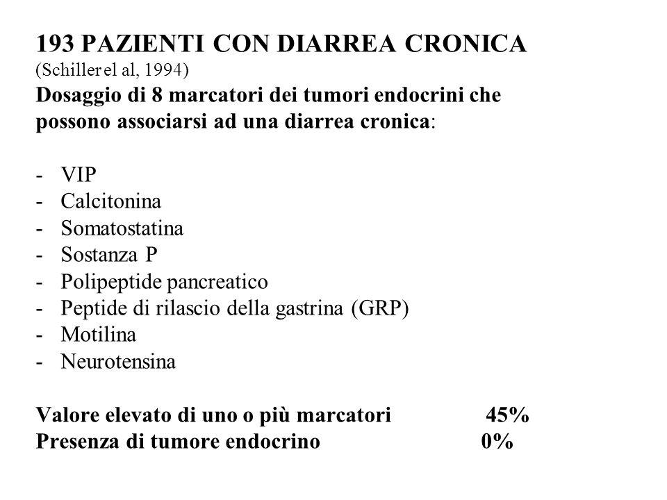 193 PAZIENTI CON DIARREA CRONICA