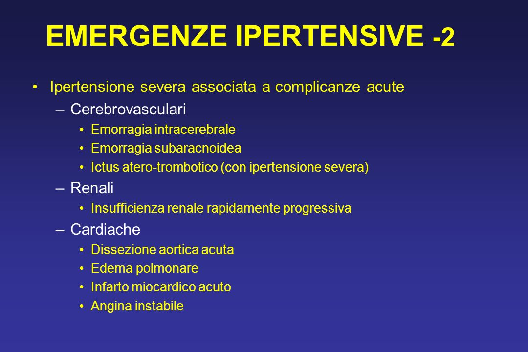 EMERGENZE IPERTENSIVE -2
