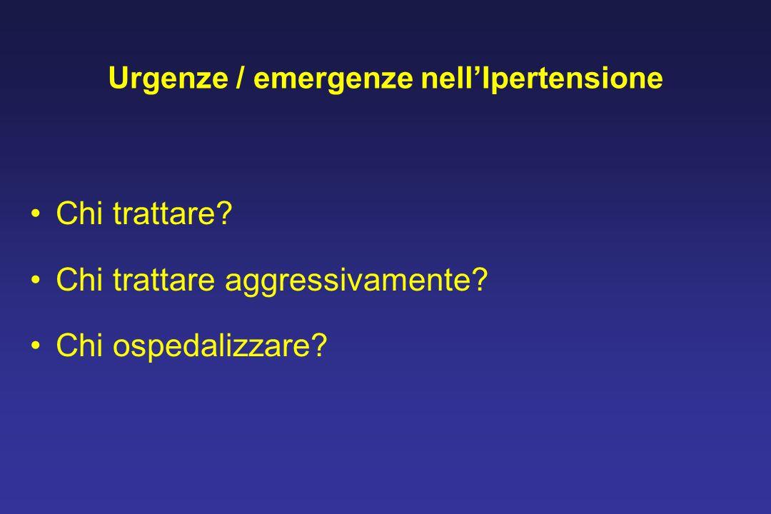 Urgenze / emergenze nell'Ipertensione