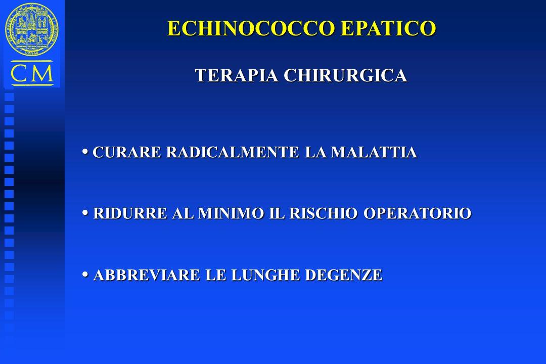ECHINOCOCCO EPATICO TERAPIA CHIRURGICA