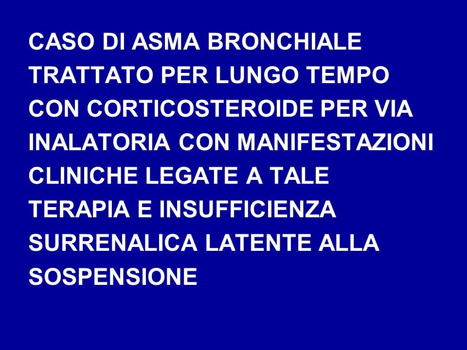 CASO DI ASMA BRONCHIALE