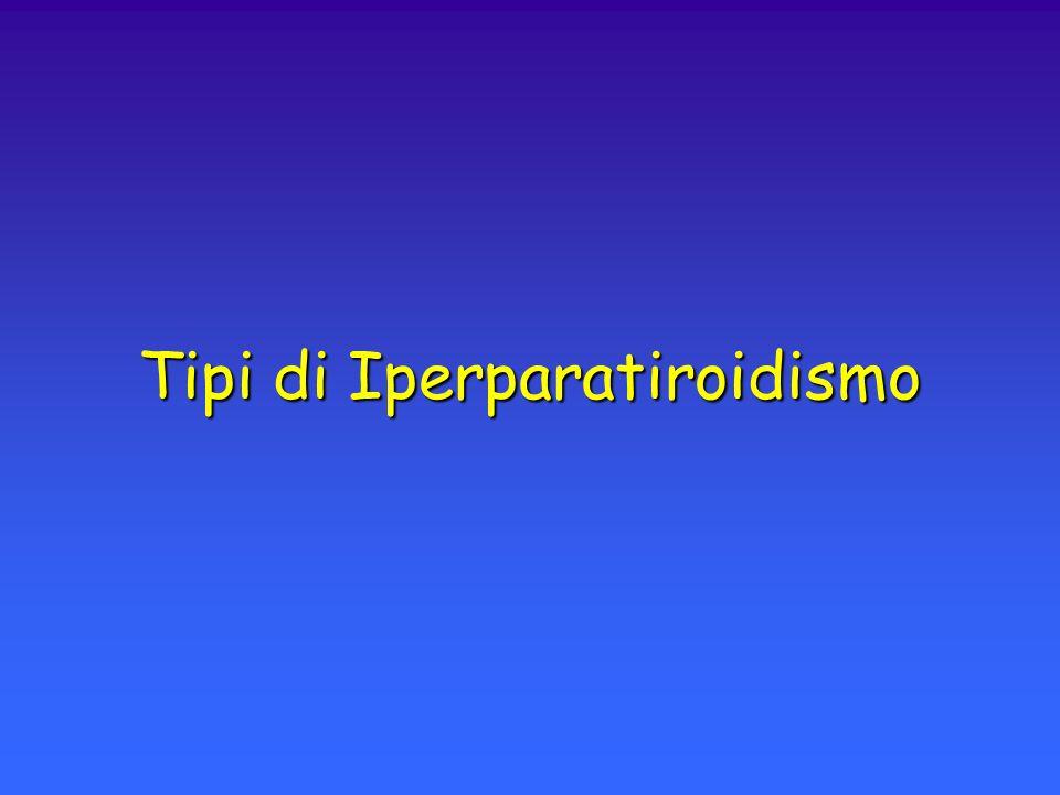 Tipi di Iperparatiroidismo