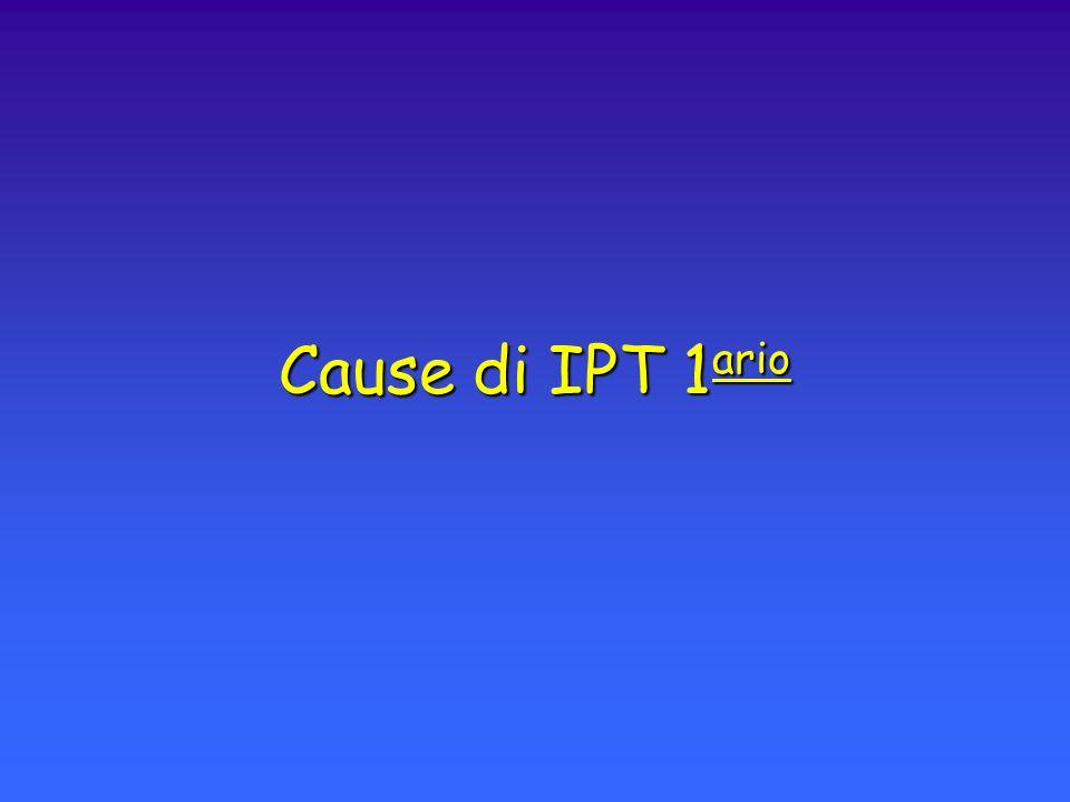 Cause di IPT 1ario
