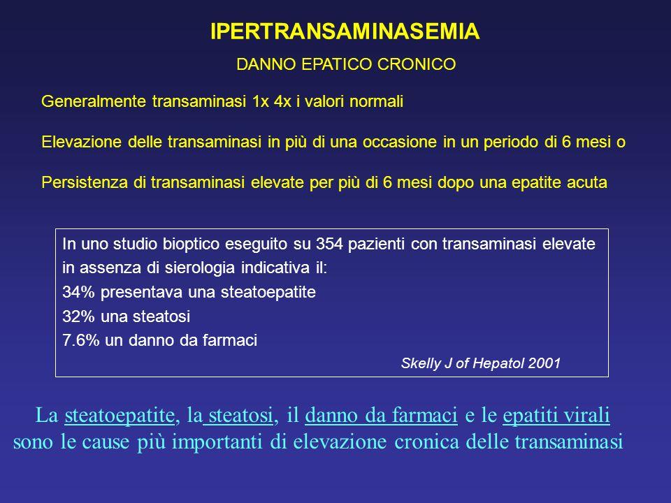 Gestione clinica del paziente con ipertransaminasemia - Epatite c periodo finestra ...