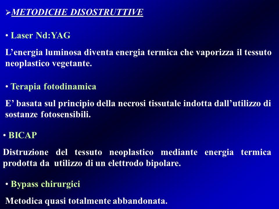 METODICHE DISOSTRUTTIVE