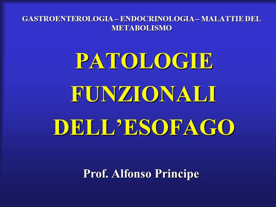 GASTROENTEROLOGIA – ENDOCRINOLOGIA – MALATTIE DEL METABOLISMO