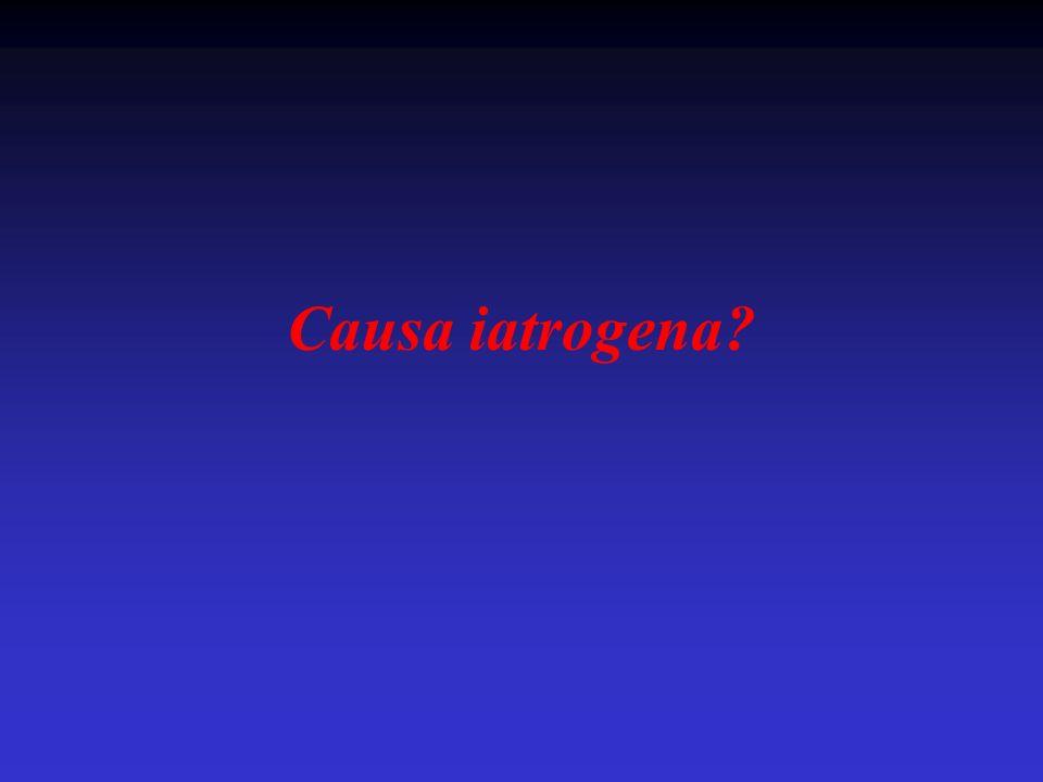 Causa iatrogena