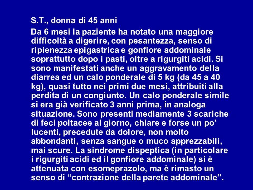 S.T., donna di 45 anni
