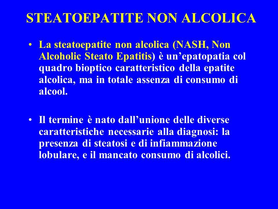 STEATOEPATITE NON ALCOLICA