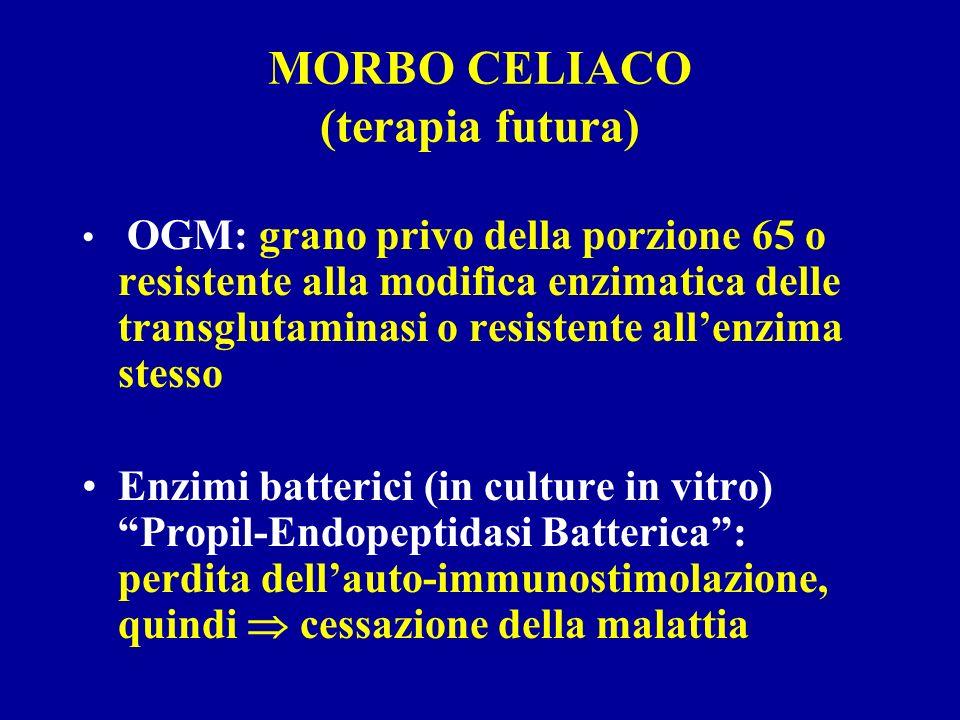 MORBO CELIACO (terapia futura)