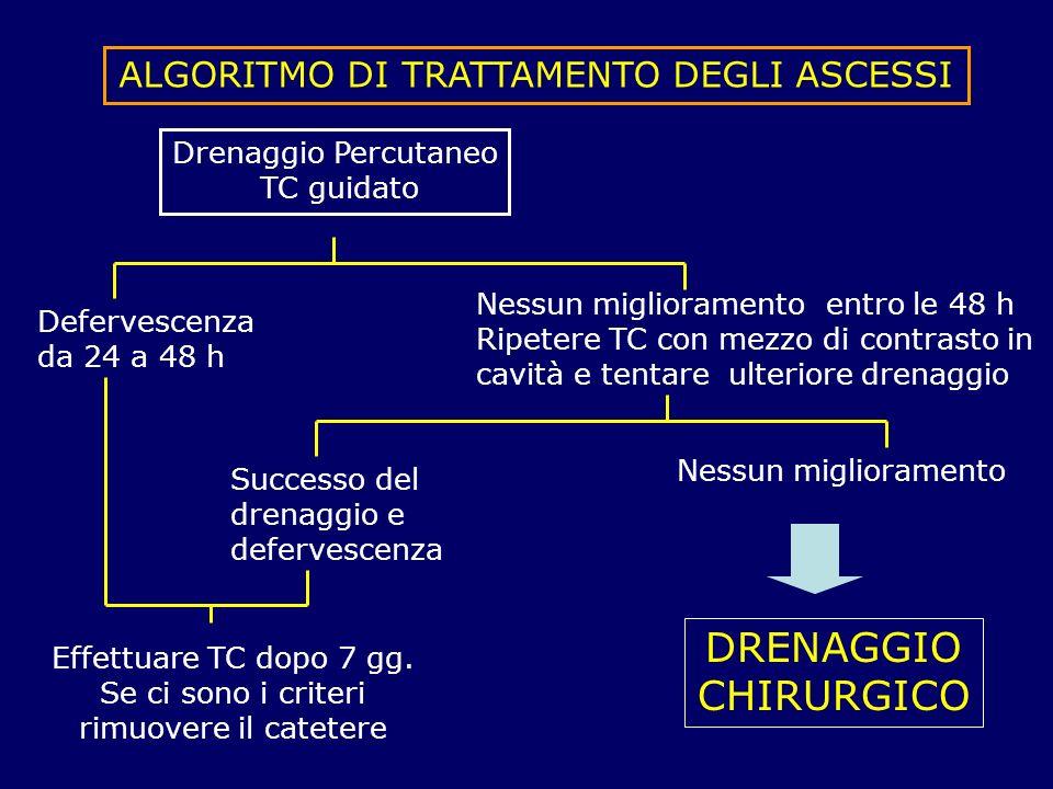 ALGORITMO DI TRATTAMENTO DEGLI ASCESSI