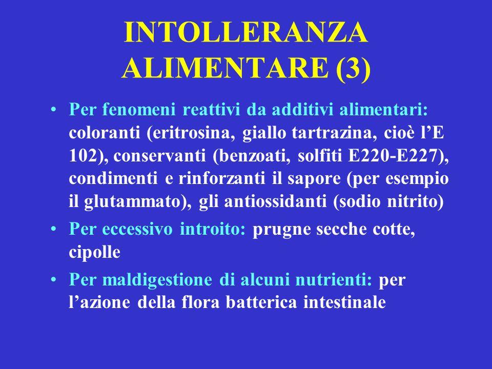 INTOLLERANZA ALIMENTARE (3)