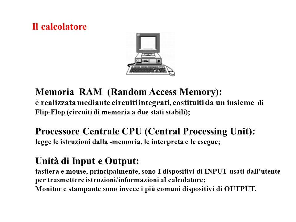 Memoria RAM (Random Access Memory):