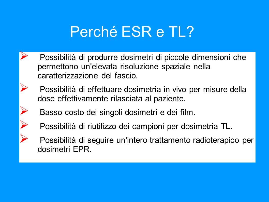 Perché ESR e TL